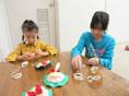 放課後等デイサービス太陽の家より「X'masオーナメント製作&クリスマスケーキをいただきました!」