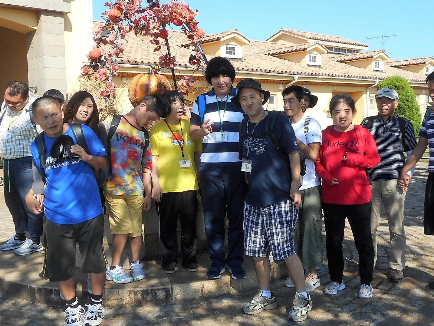 太陽の家藤の実学園より「長井海の手公園ソレイユの丘に行って来ました!」の報告です!