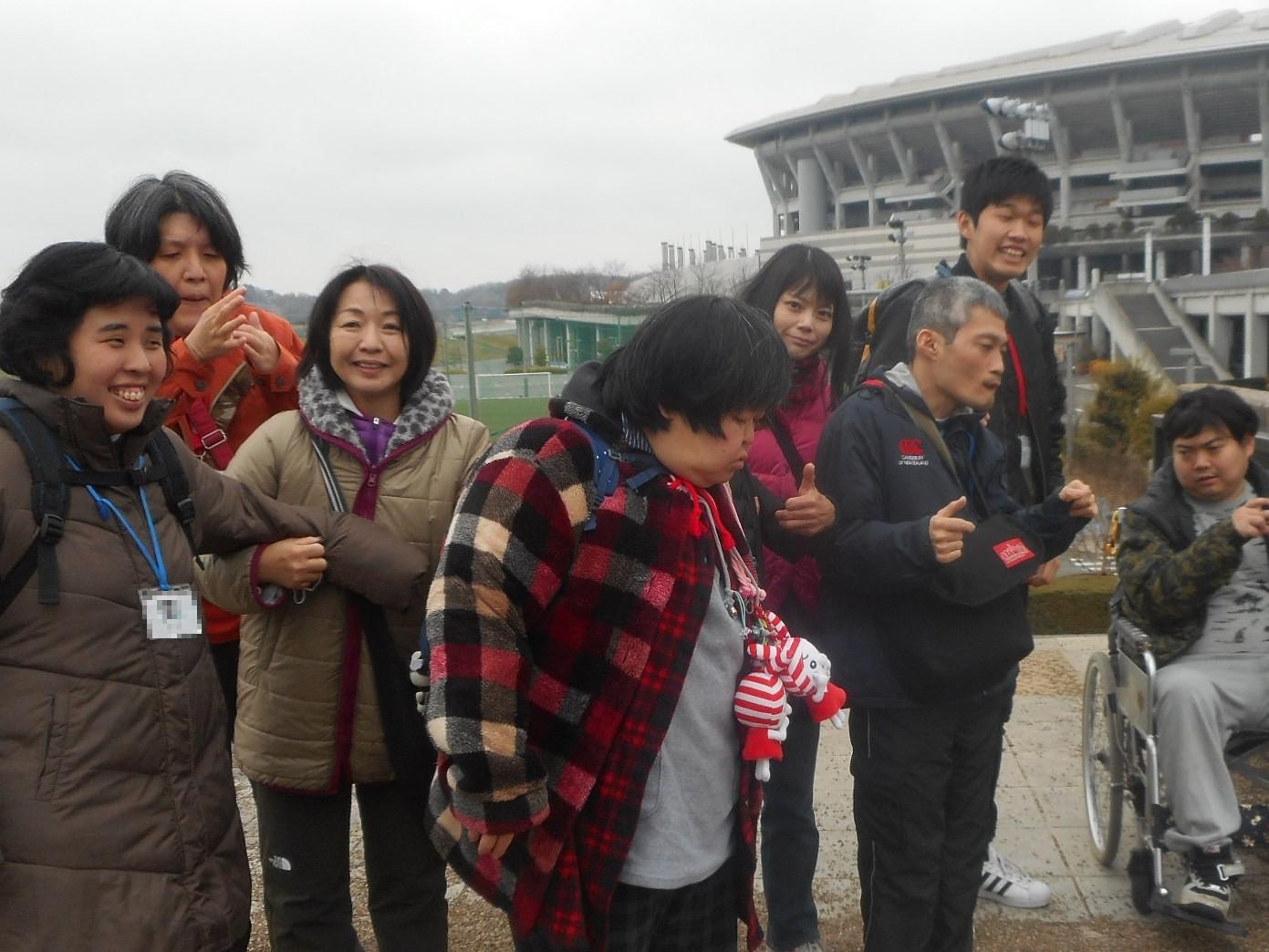 太陽の家藤の実学園より「新横浜ラーメン博物館に行って来ました!」