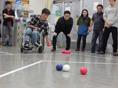 湘南希望の郷から「障害者スポーツ《ボッチャ》を体験しました」のお知らせです。