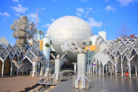 湘南台地域包括支援センターのある市民センターの外観
