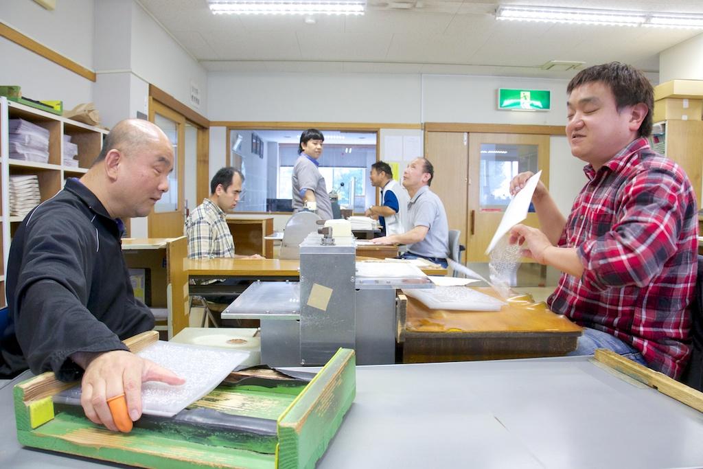 神奈川ワークショップの作業写真