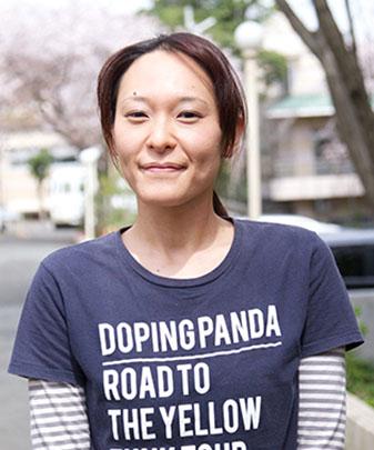 武藤華子のポートレート写真